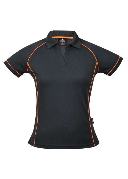LADY ENDEAVOUR POLO STYLE 2310- Slate/Fluro Orange