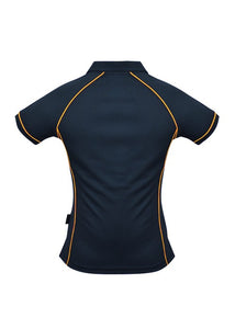 LADY ENDEAVOUR POLO STYLE 2310- Navy/Gold