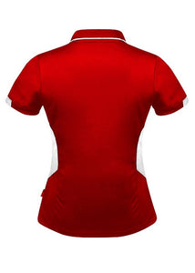 LADY TASMAN POLO STYLE 2311- Red/White