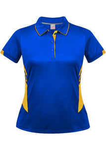 LADY TASMAN POLO STYLE 2311- Royal/Gold