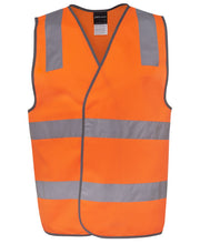 Load image into Gallery viewer, JB's HI VIS (D & N) SAFETY VEST-6DNSV