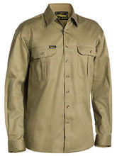 Load image into Gallery viewer, BISLEY - ORIGINAL COTTON DRILL SHIRT - LONG SLEEVE - BS6433