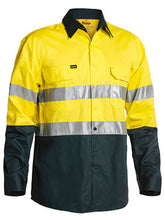Load image into Gallery viewer, BISLEY-3M TAPED TWO TONE HI VIS COOL LIGHTWEIGHT - SHIRT - LONG SLEEVE-BS6896