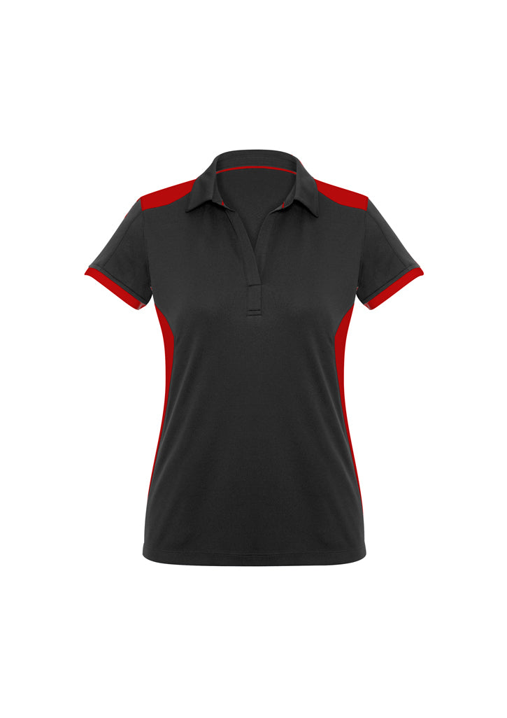 LADIES RIVAL POLO- P705LS