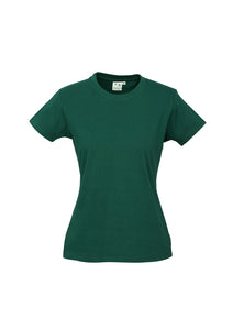 LADIES ICE TEE T10022- FOREST