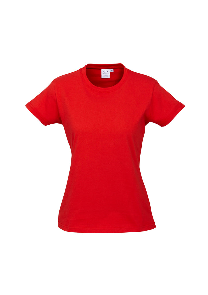 LADIES ICE TEE T10022- RED
