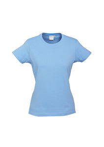 LADIES ICE TEE T10022- SPRING BLUE