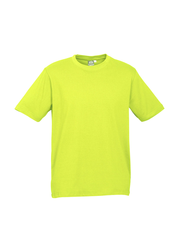 MENS ICE TEE T10012-  FLUORO YELLOW LIME