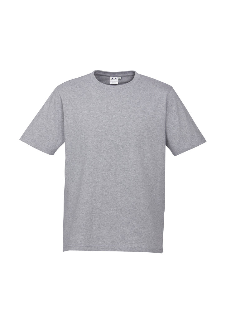 MENS ICE TEE T10012- GREY MARLE