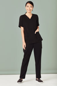 Biz Care Womens Easy Fit V- Neck Scrub Top- CST941LS