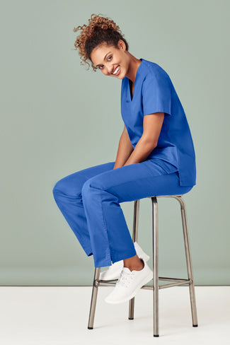 Biz Care Ladies Classic Scrubs Top- H10622