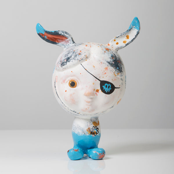 Bunny, limited edition with a patch.