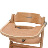3-in-1 Adjustable Wooden Highchair & Removable Tray