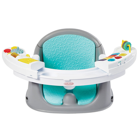3-in-1 Music & Lights Activity Seat | Booster Seat | Feeding Seat