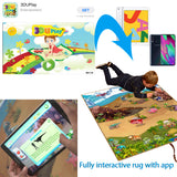 This colourful rug combined with the app brings to life everything your little one loves about these prehistoric creatures.
