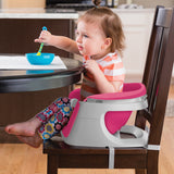 4-in-1 Pink & White Super Seat | Booster Seat | Feeding Seat