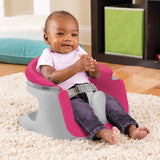 4-in-1 Pink & White Activity Super Seat | Booster Seat | Feeding Seat | Support Seat