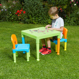 The table is lightweight but sturdy and can easily be moved from room to room or into the garden whist being easy to clean
