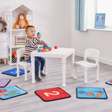 This modern designed multi purpose table and chairs is ideal for young children to sit at and enjoy play, arts & crafts activities