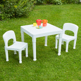 lightweight but sturdy and can easily be moved from room to room or into the garden.