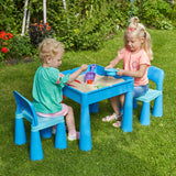 Tables are lightweight but sturdy and can easily be moved from room to room or into the garden.