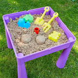 Perfect for your little girl, use the table top to draw on, remove the lid and you have storage or a sand and water pit