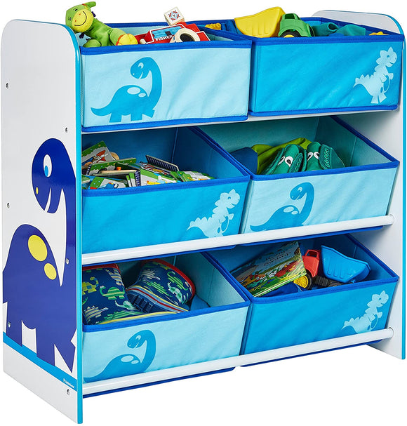 Part of our Diddi Dino Collection, this funky storage unit is ideal for playrooms and bedrooms.