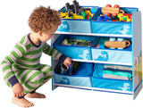 Toy storage unit is ideal for storing toys, books and games