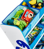 Great for encouraging kids to tidy away in the toy storage unit