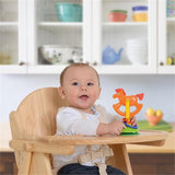 High quality solid wooden highchair finished to a high standard will stand the test of time through weaning and beyond.