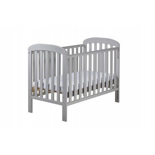 Dropdown side cot allows you to safely check on your little snoozer without disturbing their peaceful slumber!