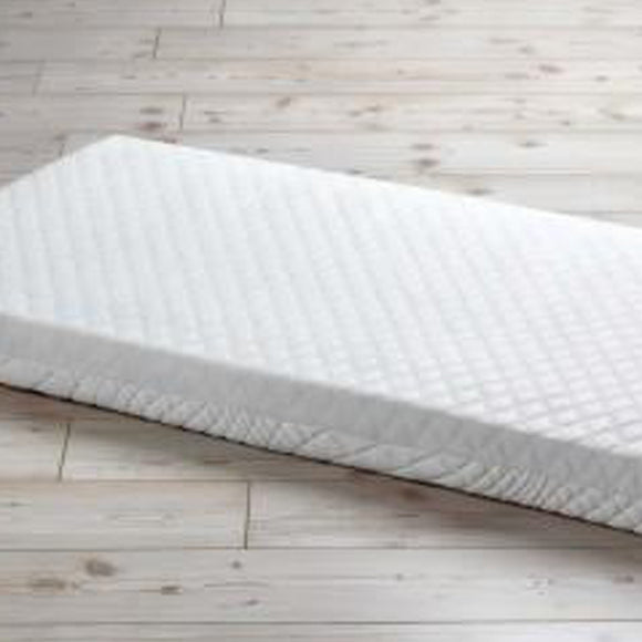 This breathable cot bed pocket spring mattress with double sided quilted cover is perfect for all seasons