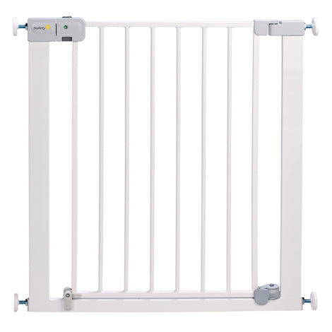 Safety 1st Metal Stair Gate | Auto Close | White Stair Gate (73-80cm)