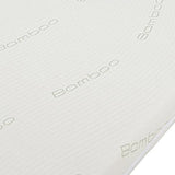 The mattress features a waterproof membrane that can be moved to give protection where needed