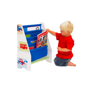 Here is our Trucks n Tractors Bookcase a great storage solution for keeping bedrooms and playrooms neat and tidy.