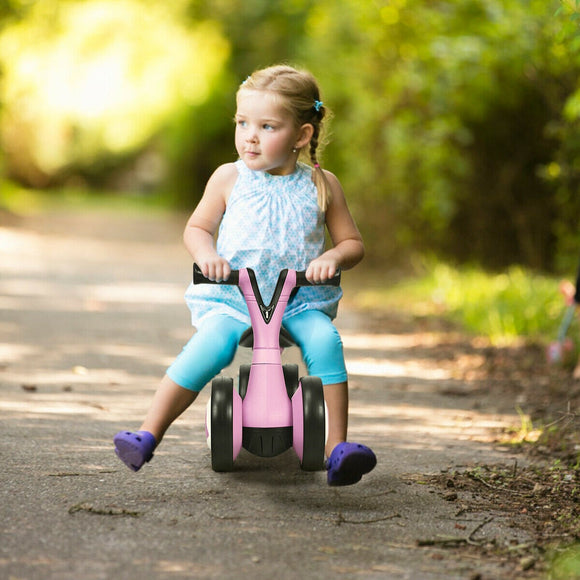 Tots will fall in love with this balance bike, quickly learning to ride and steer.