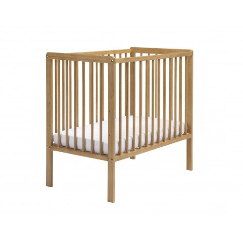 This simple-to-put-together cot is perfect if you're looking to save space!