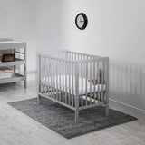This handy cot arrives with the mattress!