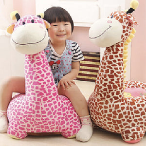 Made from a luxuriousy soft fabric, this giraffe chair is soft to the touch, super soft yet hardwearing, keeping its pile long after use