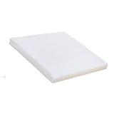 Foam Crib Mattress with Transparent Wipe Clean Cover