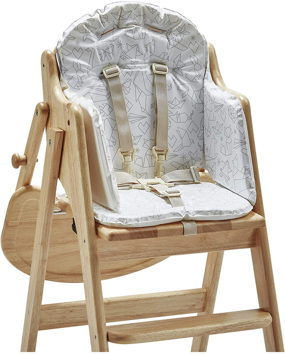 Soft foam padded highchair insert suitable for our wooden highchairs - Diddy Diner, Baby Led Weaning & Easy Fold Highchair