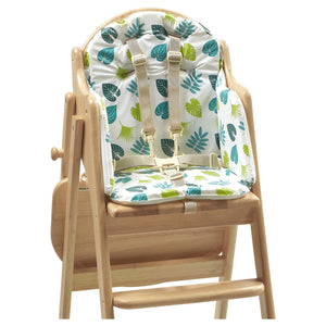 Soft foam Rainforest Friends highchair insert suitable for our wooden highchairs:  Diddy Diner, Baby Led Weaning & Easy Fold