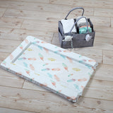 The most perfect baby change mat for your little one keeping them safe as the mat is filled with soft  padded foam