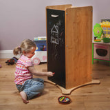 Little Helper FunPod learning tower with blackboard side panels for drawing on or writing shopping lists!
