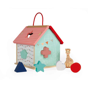 This beautiful wooden house is styled in gender neutral colours to appeal to all children.
