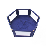 Perfect for indoors and outdoors it has a thick padded floor mat allowing a gentle and soft environment for your child.