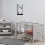 Part of our zig-zag range the cot bed goes perfect with any nursery decor