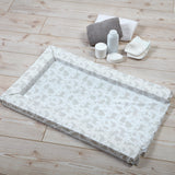 Woodland wonder animal print baby change is a perfect neutral tone and easy to use on your travels