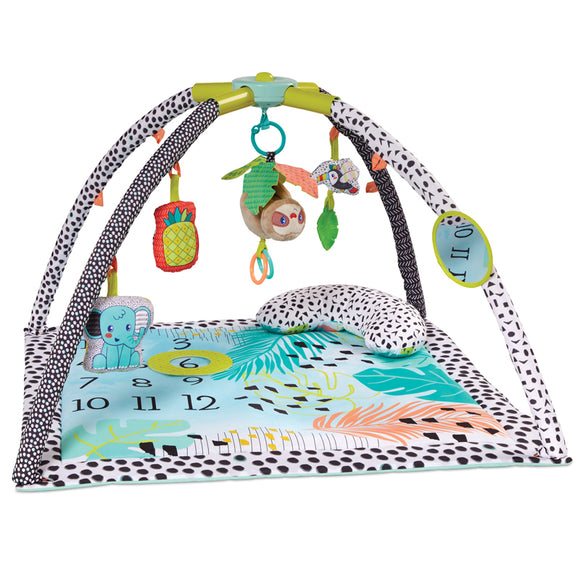 Making Memories  or Capturing Milestones with this Portable Baby Play Mat in lovely engaging colours and patterns