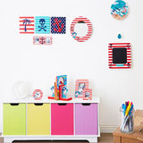Childrens White Toy Storage Unit | Bench with 4 Colourful Storage Boxes